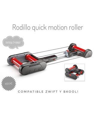 Rodillo Elite Quick motion roller NUEVO
