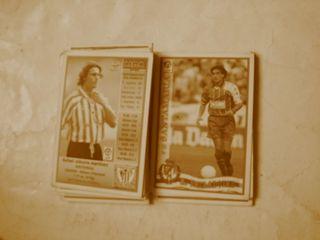 cromos fichas de liga de fútbol 97 98 abum 1997