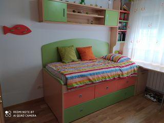 Habitación dormitorio infantil juvenil completo