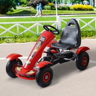Coche de Pedales Go Kart Racing Deportivo con Asie