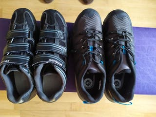 Zapatillas t44 t45 botas ciclismo bici mtb mountai