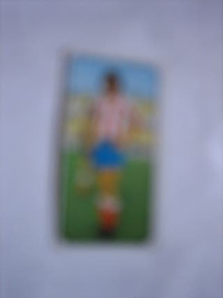 cromo del álbum de fútbol liga 77 78 ESTE Leal