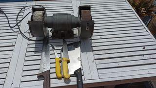 Afilar cuchillos y tallantes