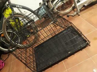 jaula transporte perro grande