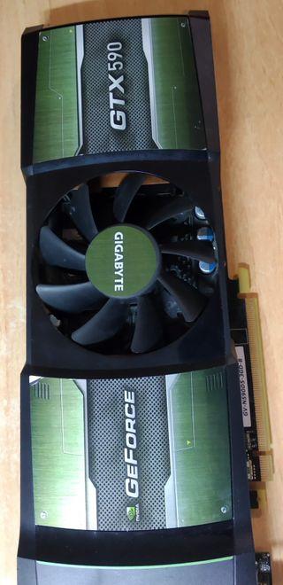 Tarjeta gráfica Geforce GTX 590