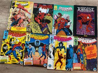 6 cómics de Spiderman
