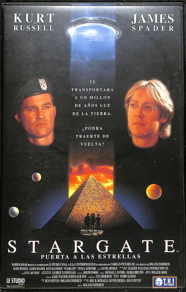 Vhs Stargate Puerta A Las Estrellas De Segunda Mano Por 1 En Badalona En Wallapop