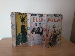 3 libros años 40 Rafael Pérez Pérez