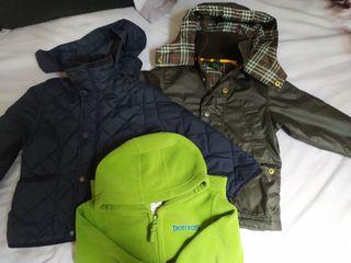 Lote chaquetas 2-3 años