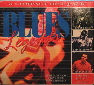 Various Blues Legends 3CD