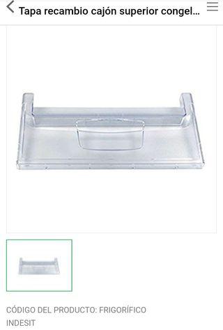 Tapa cajón frigorífico congelador Indesit Ariston