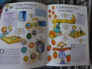 Libro Divertilandia, juegos, manualidades, cocina,