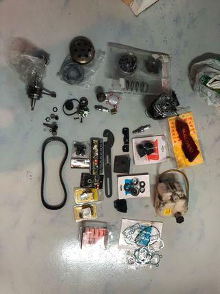 Kit piezas y utiles motor piaggio h2o 49cc 50cc