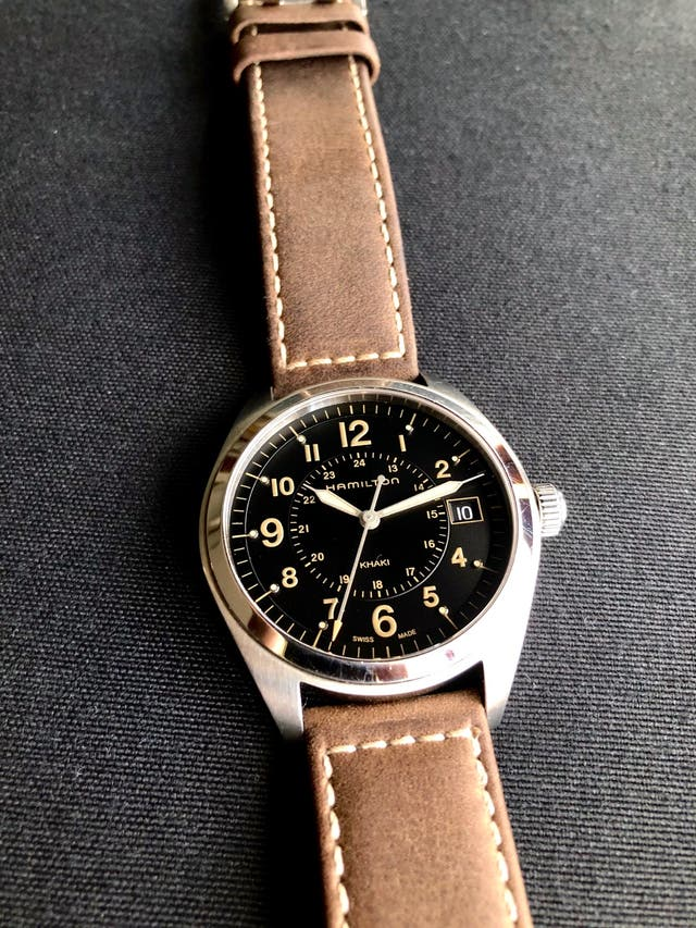 Reloj Suizo HAMILTON KHAKI FIELD QUARTZ H68551833