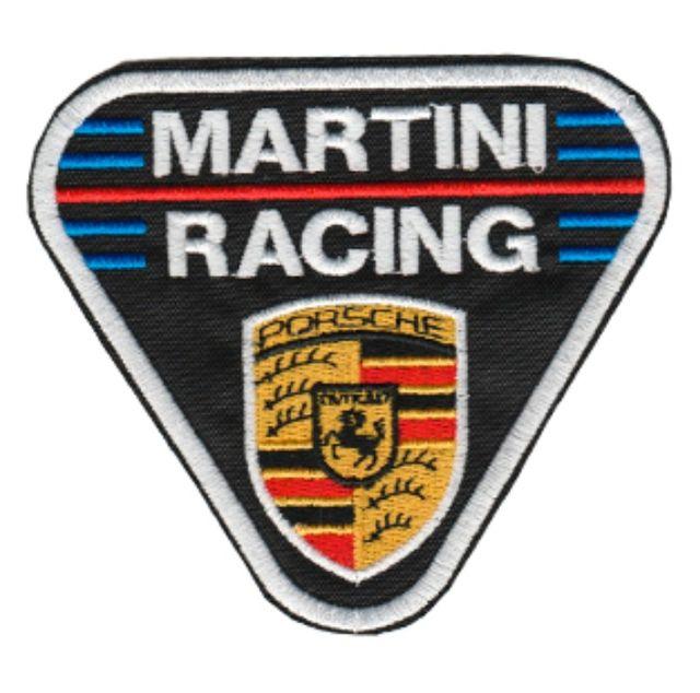 PARCHE BORDADO MARTINI RACING PORSCHE