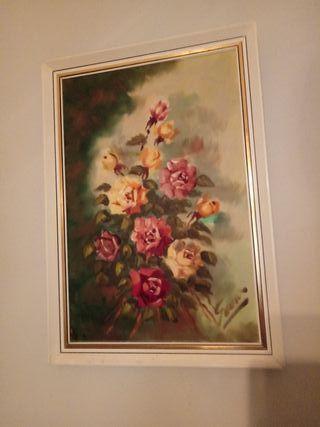 OLEO/ANTIGUO/AÑOS 70/48x68 cm.
