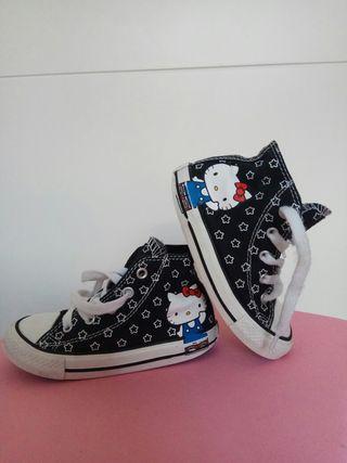 zapatillas converse niña 24