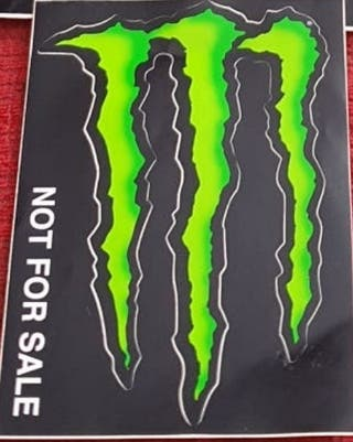 Pegatina Monster Energy de vinilo