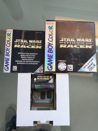 StarWars Episode I Racer GBC