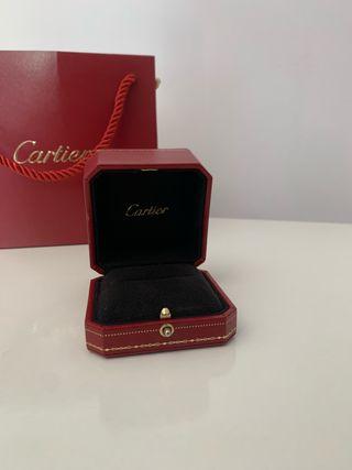Caja Anillo Cartier