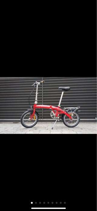 Bicicleta plegable Dahon curve D3