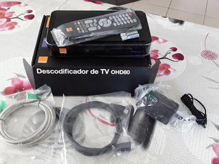 Decodificador de TVOHD80 wifi de Orange.No se hace