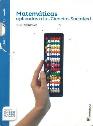 Matemáticas aplicadas ciencias sociales - 1º bachi