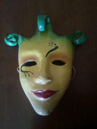 Máscara carnaval ceramica