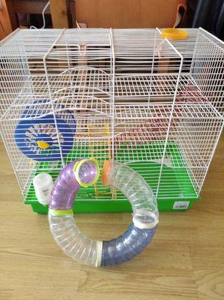 jaula de hamster
