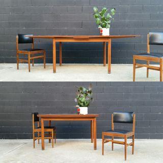Mesa estilo NORDICO. Vintage, 60s.