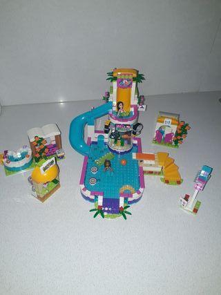 Lego friends. Piscina Verano Heartlake.