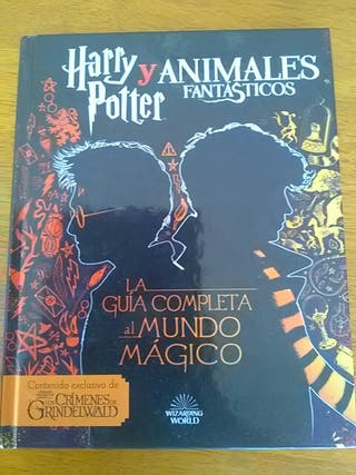 Libro de Harry Potter y Animales Fantásticos
