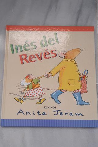 Libro infantil Inés del revés