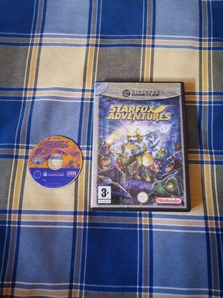 STARFOX ADVENTURE gamecube