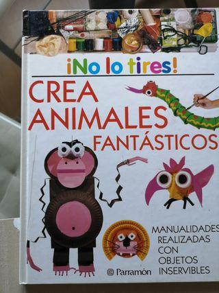 Crea animales fantásticos. Manualidades.
