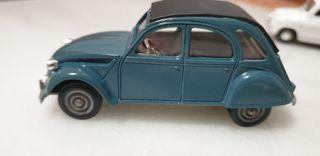 Coches en miniatura Seat 600D Citroen 2cv6