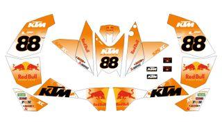KIT pegatinas QUAD KTM XC SX 450,525