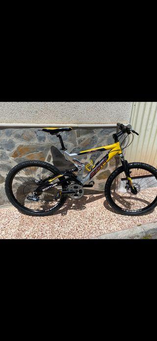 Bici Scott doble