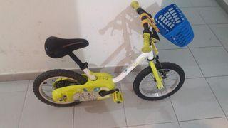 Bicicleta para niños 14 pulgadas