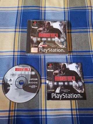 Resident Evil 3 Nemesis PSX