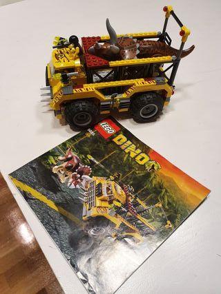 Lego Dino 5885 La trampa del Triceratops