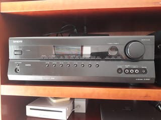 amplificador home-cinema onkyo 5.1