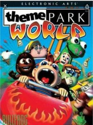 Juego pc theme park world