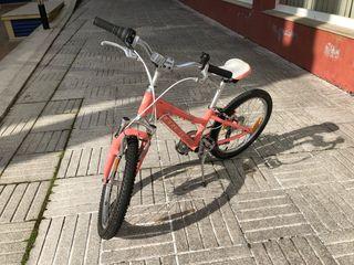 Bicicleta trek niña