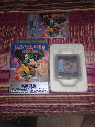 Land of illusion game gear