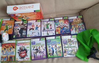 7 juegos xbox 360 y accesorios originales