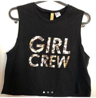 Girl Crew Vest Top