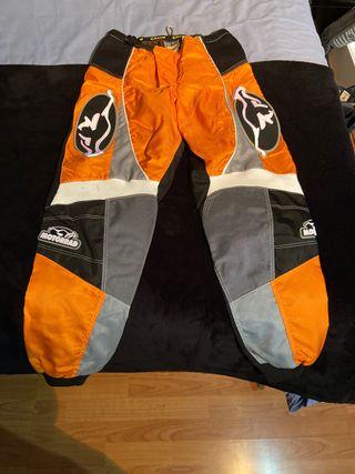 Pantalon motocross nuevo