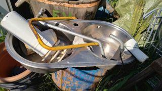 Fregadero de acero inox