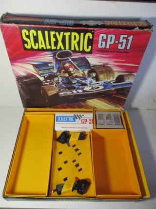 CAJA GP-51 SCALEXTRIC EXIN AÑO 1973 (SIN COCHES)